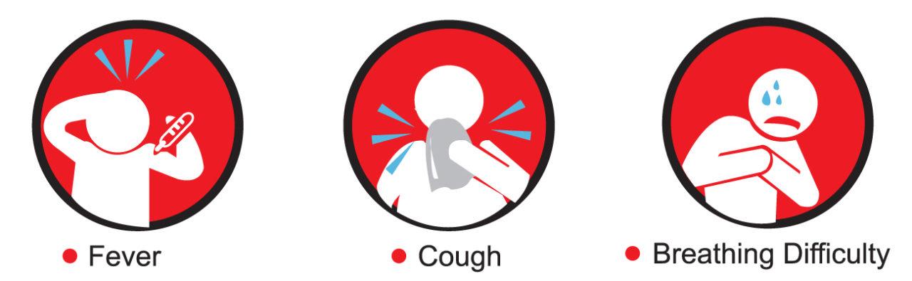 3 common symptoms of COVID-19